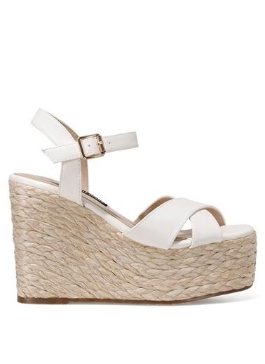 Nine West Sandalet Beyaz